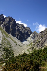 Tatry Mountains in Poland