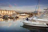 Marina and Boats at Dusk