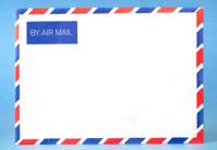 Blank Airmail Envelope