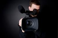 Cameraman with Camcorder
