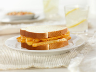 Chip Buttie, French Fry Sandwich