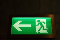 Modern Illuminated Emergency Exit Sign