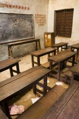 Nepali school room