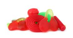 Gum gelatin candies