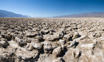 Devils golf course in Death Valley NP