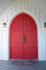 Red Chapel Doors