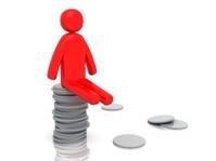 Moneyman with coins | Money-man Series