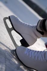 Skaters wearing skates