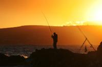 Dusk Fishing.