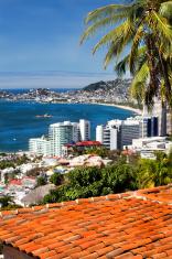 acapulco mexico cityscape