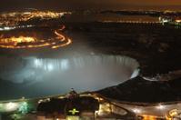 Niagara Falls Lit Up
