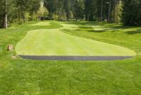 Putting golf course fairway
