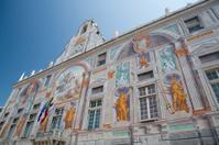 Beautiful palace in Genova