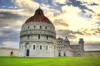 Pisa, Italy at Sunrise