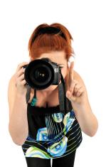 Elegant modern photographer. See more