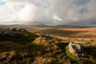 Remote area of North Dartmoor near Fur tor