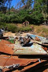 scrap dump pollution