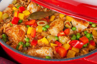 Chicken with Rice Arroz Con Pollo Cuban Latin American Food