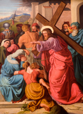 christ and the women - cross way