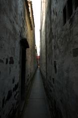 Ancient Narrow Passage in Village of Xitang, China
