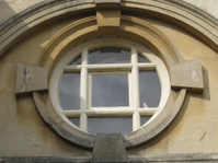 Round Window in Bath England.