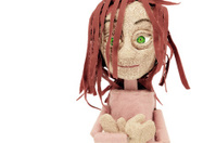 Puppet representing a girl