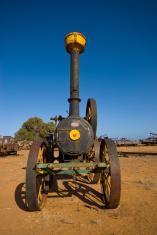 Old Locomotive at Carnarvon