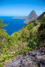 Gros Piton mountain trail