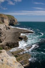 Dancing Ledge on the south Dorset coast