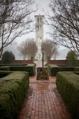 Winter Clock Tower