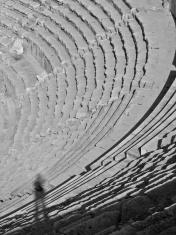 At the Amman Amphitheatre.