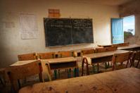 Classroom in African School