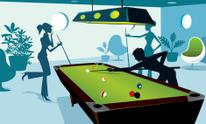 Saturday Night at the Billiard Room