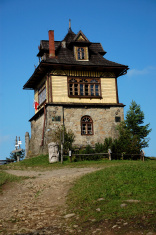 mountain hostel in the Beskidy, Poland