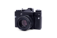 Vintage analog SLR camera