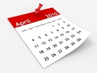 April 2010 - Calendar series