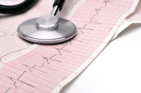 Phonendoscope and cardiogram
