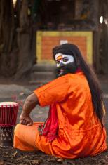 Crazy Sadhu in India