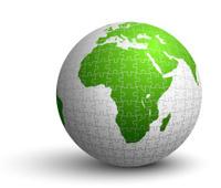 earth globe puzzle