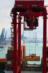 Container Terminals, Hong Kong.