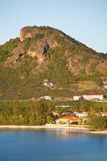Antigua Y Barbuda Mapa Mapamundi Amarillo Del Oro Noticias