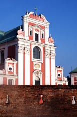church behind the wall