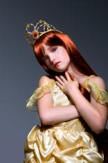 Cute Golden Princess