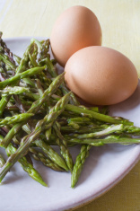 fresh asparagus plant foods