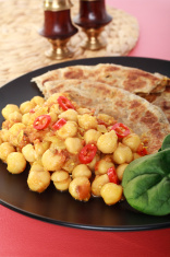 Chickpea Curry Channa Chana Masala Indian Food
