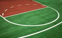 Fresh Basketball Court Background