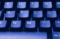 SELL written in keys
