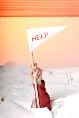 help needed: business man in danger