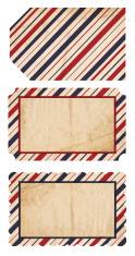Patriotic Paper Tags - XXXL