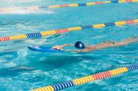 Kickboard swimming